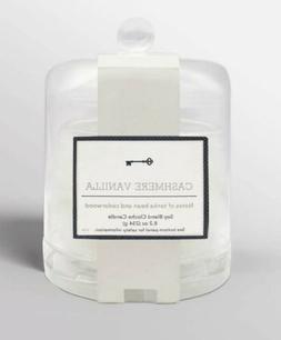 8.2oz Cloche Glass Jar Candle CASHMERE VANILLA Harry Styles