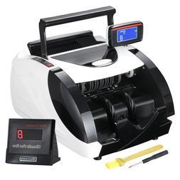 Automatic Cash Currency Money Counter Machine Counterfeit Bi