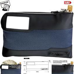 Bag Security Locking Money Cash Bank Anti Theft Lockable Pur
