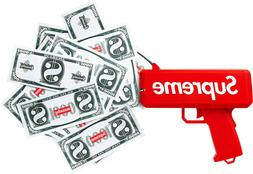 Supreme Cash Cannon Money Gun cashcannon SS17 Box Logo 100%