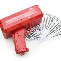Cash Cannon Money Gun Launcher w/100pcs Fake $100 Bills Part