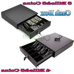 Cash Register Drawer Box 4/5 Bill 5 Coin Tray Compatible Wor