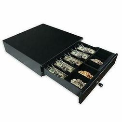 Cash Register Drawer Box 5 Bill 5 Coins Tray Compatible Work