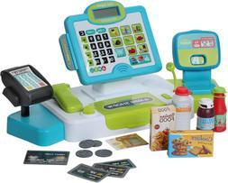 Cash Register For Kids W Scanner Credit Card Reader Play Mon
