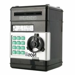 Combination Lock Money Box Code Key Coins Cash Saving Piggy