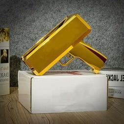 Handheld Money Gun Cash Box Cash Cannon Box Play Bill Party