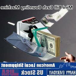 Handy Mini Counter Bill Cash Money Machine Automatic Banknot