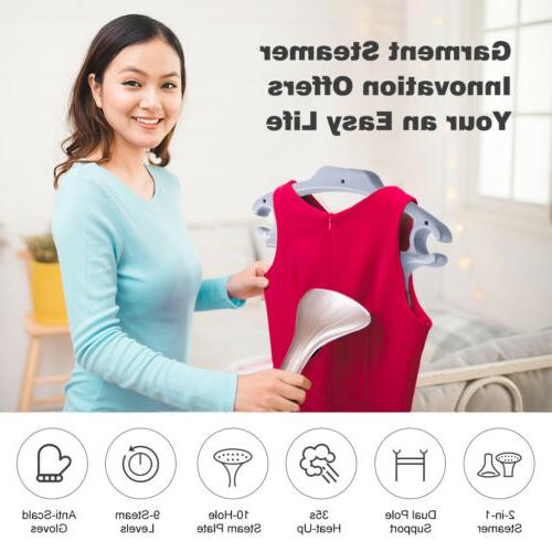 2-In-1 Vertical Garment Fabric Steamer Removal Steamboard