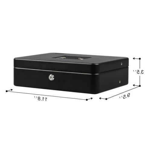 Box with Money Black Tiered