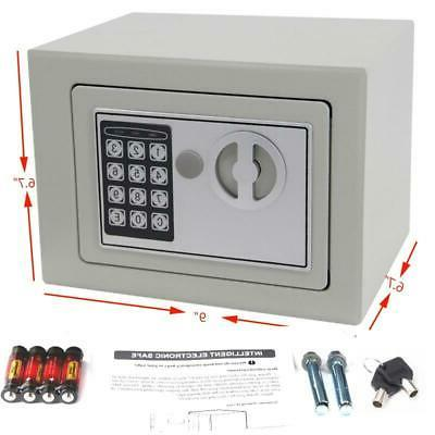 """9"""" inch Electronic Safe Keypad Home Office Jewelry Cash Money"""