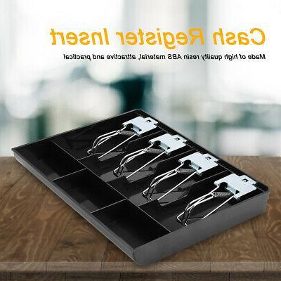 Cash Register Box 4 Insert Tray Cashier w/