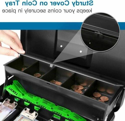 Metal Cash Money Safe Check