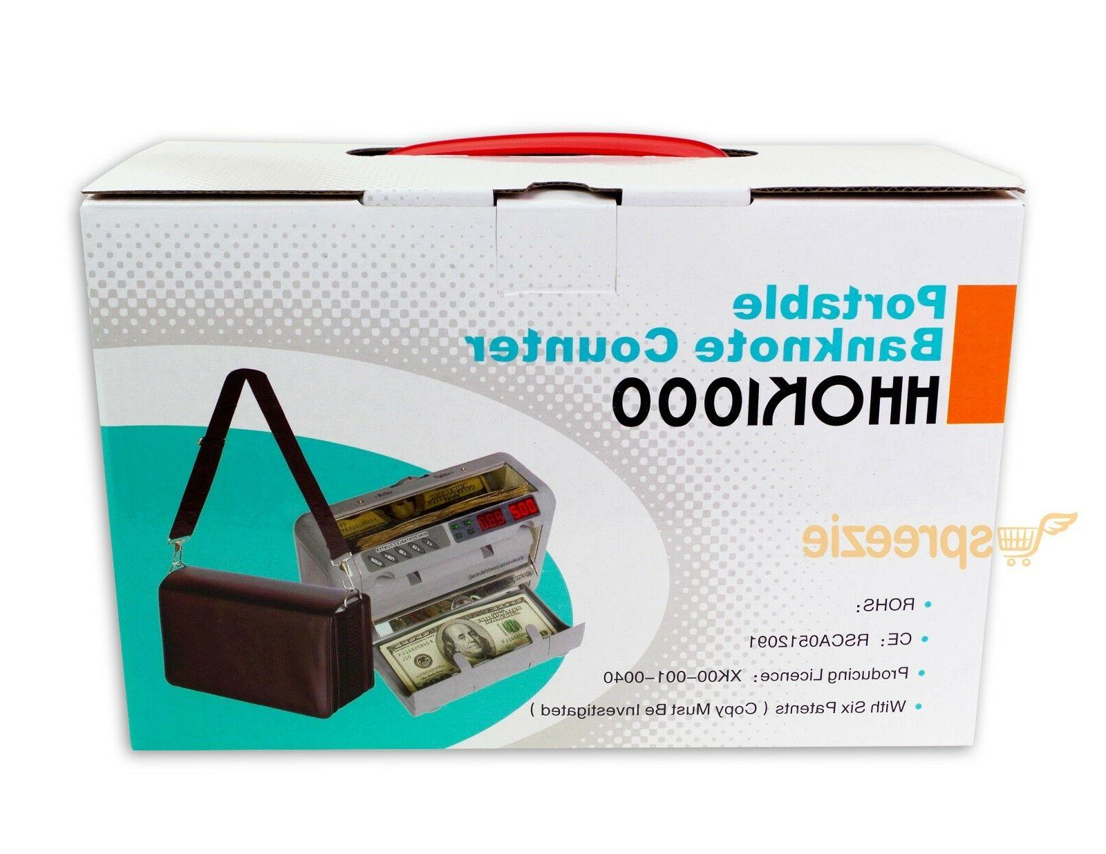 Portable Bill Counter Counting Banknote