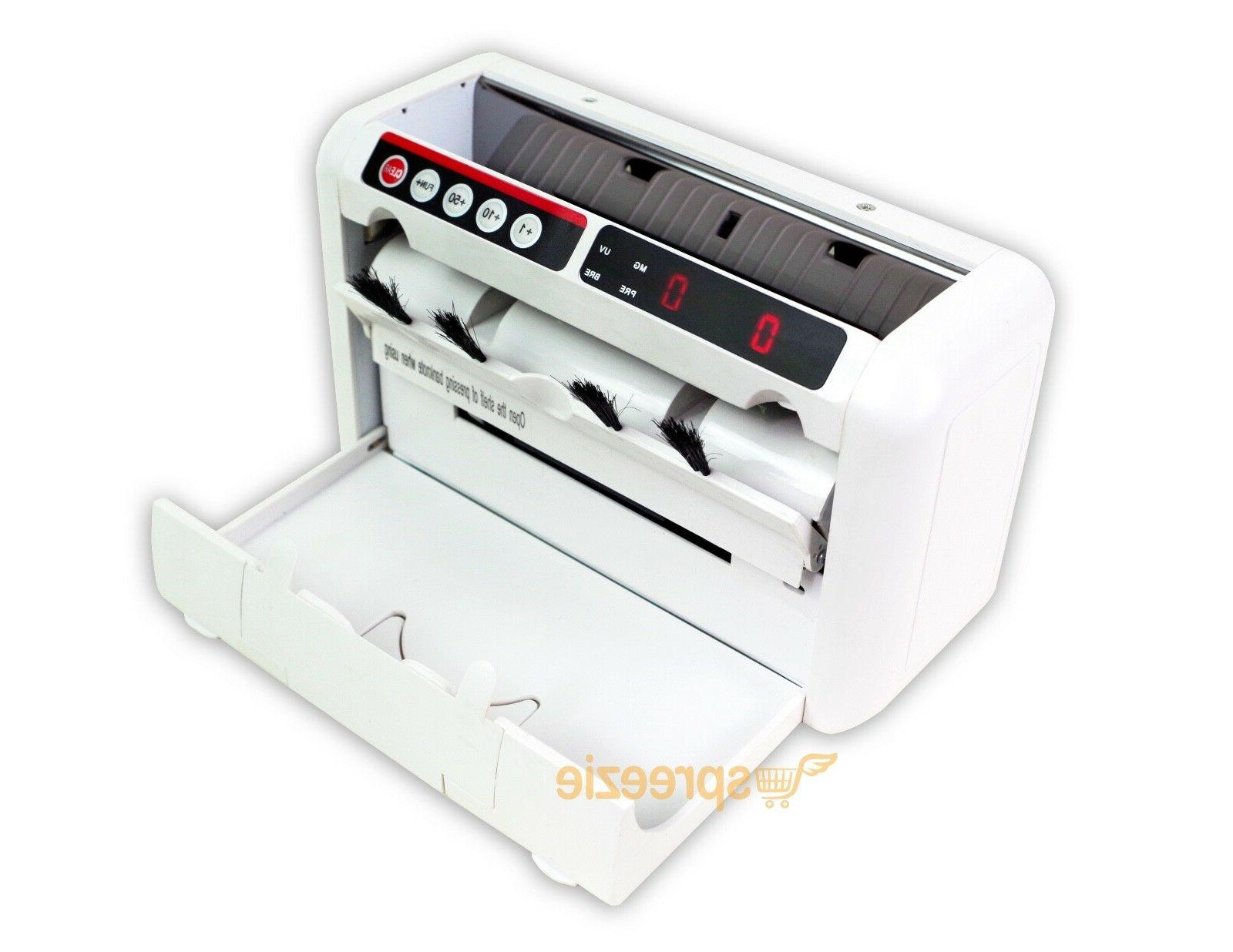 money counting machine cash currency banknote uv
