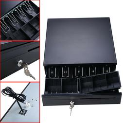 Large Cash Register Drawer Square 5 Bill Tray Under Counter