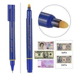 Mini Banknote Tester Pen Counterfeit Money Detector Fake Dol