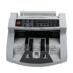 Money Bill Counter Counting Machine Counterfeit Detector UV