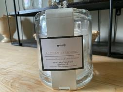 NEW THRESHOLD CASHMERE VANILLA Glass Jar Candle HARRY STYLES