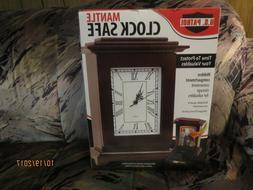 Premium MANTLE Clock Hidden Big Safe Secret Jewelry Security