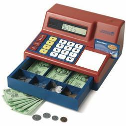 Pretend & Play Kid's Calculator Cash Register, Great Time Fo