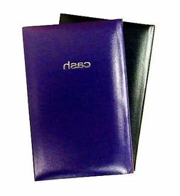 """Set of 2 Cash Books, 7.9"""" x 5"""" Inches, 144 Pages per Book -"""