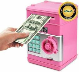 Setibre Piggy Bank, Electronic ATM Password Cash Coin Can Au
