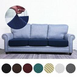 Stretchy 1-4 Sofa Seats Square Cushion Cover Couch Slip cove