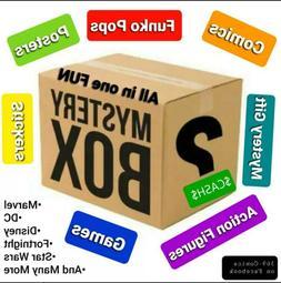 Suprise Loot Box- Comics, Funko Pops, Cash, Action Figures,